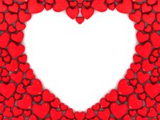 Free Hearts Background Stock Photo - 18415280