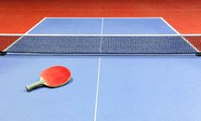 Free Equipment For Table Tennis Stock Photography - 18415992
