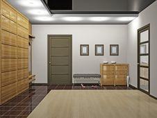 Free Hall With Wardrobe Royalty Free Stock Photography - 18416227