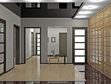 Free Hall With Wardrobe Stock Image - 18416231