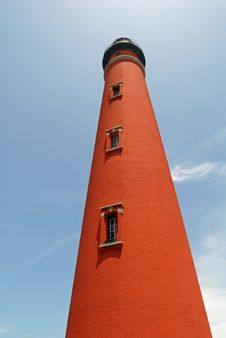 Free Red Brick Lighthouse Royalty Free Stock Image - 18416336