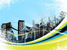 Free Cityscape Background Stock Images - 18416704