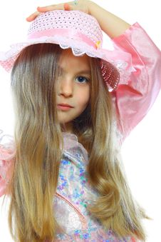 Free Little Girl Posing Royalty Free Stock Photography - 18417037