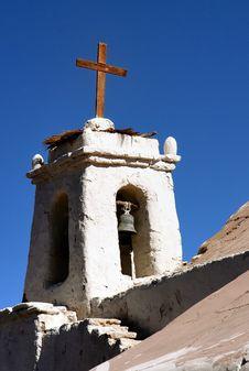 Campanario Iglesia De Chiu Chui En Chile Stock Photography