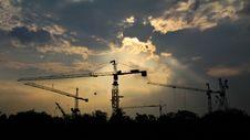 Free Crane Stock Photo - 18417320
