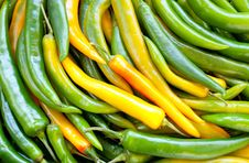 Free Green Pepper Chile Royalty Free Stock Images - 18417589
