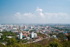 Free Pattaya City With Cloud. Stock Image - 18418251