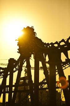 Free Roller Coaster Royalty Free Stock Image - 18418376