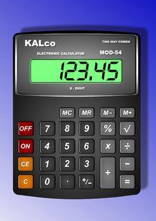 Free Calculator Royalty Free Stock Photos - 18418378