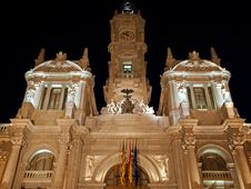 Free Valencia At Night Stock Photo - 18419090