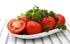 Free Bunch Of Tomatoes Stock Image - 18419651