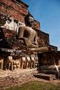 Free Wat Mahatat Sukhothai History Park In Thailand Stock Image - 18423761