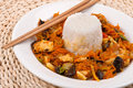 Free Chinese Food With Rice Stock Image - 18427121