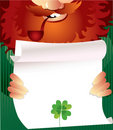 Free Leprechaun On Patrick S Day Royalty Free Stock Photo - 18427635
