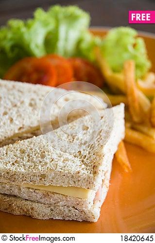 Free Sandwich Royalty Free Stock Photo - 18420645