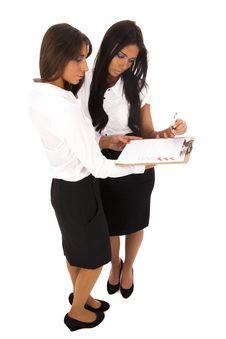 Free Two Business Women Stock Photos - 18422403