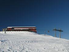 Free The Ski Area Royalty Free Stock Photo - 18422735