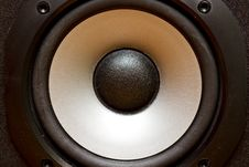 Free Stereo Speakers Membrane Royalty Free Stock Images - 18422889