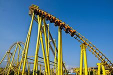Free Roller Coaster Stock Images - 18423724