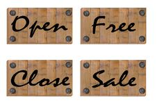 Free Wooden Board Stock Photography - 18424062