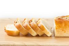 Free Stack Of Garlic Bread Royalty Free Stock Photo - 18424285
