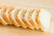 Free Stack Of Garlic Bread Stock Photo - 18424390