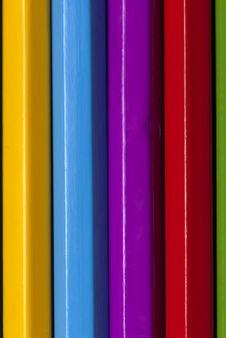Free Color Pencils Close Up Stock Photo - 18424600