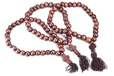 Free Wooden Rosary Stock Image - 18425181