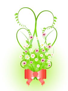 Free Bouquet Of Spring Flowers Royalty Free Stock Images - 18426489