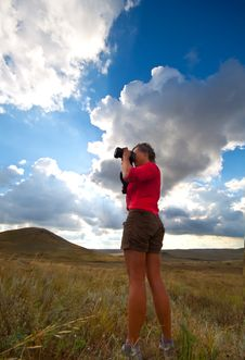Free Nature Photographer Royalty Free Stock Photography - 18426687
