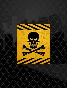 Free Prohibited Zone Stock Photo - 18426880