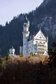 Free Neuschwanstein Castle In Germany Royalty Free Stock Photography - 18426937