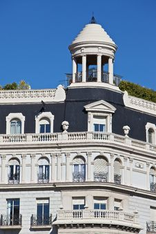 Free Barcelona Traditional Architecture (Spain) Royalty Free Stock Image - 18427276