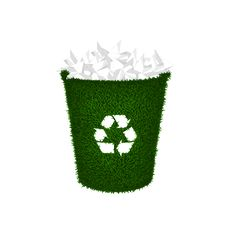 Free Recycle Container, Wastepaper, Trash Royalty Free Stock Photography - 18427427