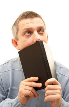 Free Young Man With Book Royalty Free Stock Photos - 18427468