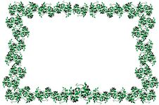 Free Vector Illustration Of The Frame From  Leaves Stock Photos - 18427603