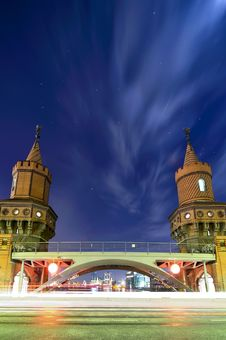 Free Oberbaum Bridge Berlin Stock Image - 18428121