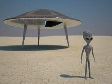 Free Humanoid Landing Stock Photo - 18428740