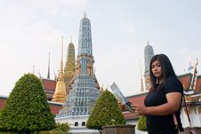 Free Wat Thai Tourism. Royalty Free Stock Photography - 18428807
