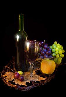 Free Wine Royalty Free Stock Photo - 18429195