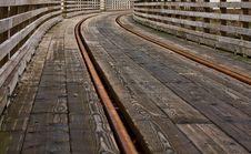 Free Railroad Bridge Royalty Free Stock Images - 18429229