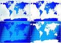 Free World Maps Royalty Free Stock Photos - 18430028