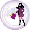 Free Shopping Girl Stock Photo - 18430610