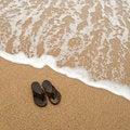 Free Beach Sandles Royalty Free Stock Photography - 18432407