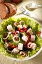 Free Salad With Prawns Royalty Free Stock Image - 18436446