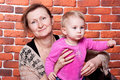 Free Grandmother And Her Grand Daughter Stock Image - 18439011