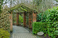 Free Garden Arch Royalty Free Stock Photography - 18439777