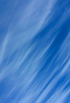 Wispy Clouds Stock Image