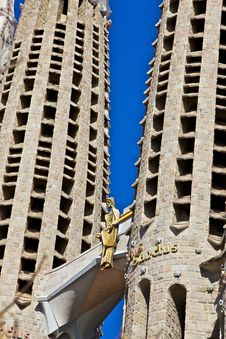 Free Sagrada Familia, Barcelona, Spain - 2 Stock Photos - 18430653