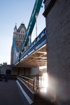 Free Tower Bridge, London Royalty Free Stock Photography - 18430957